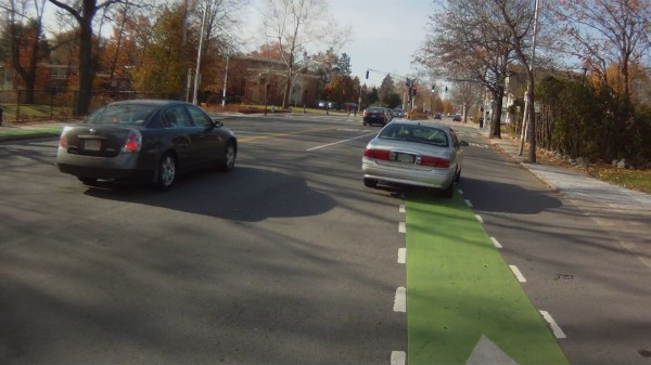 Avoiding the X-merge on Concord Avenue