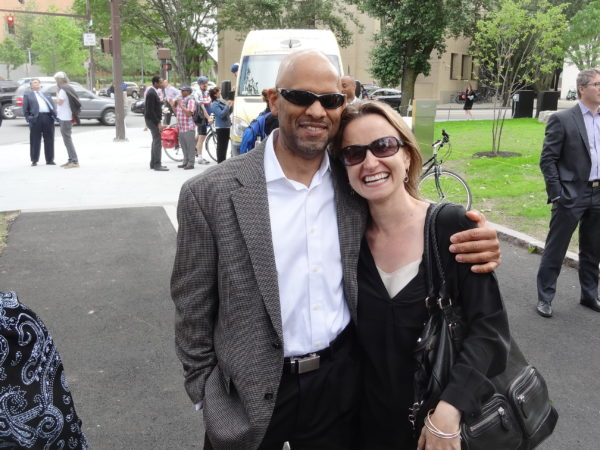 Michael Owu (MITIMCO) and Anya Bear (MIT Government and Community Relations)